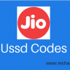 Reliance Jio USSD Codes: Check Data, SMS & Balance (Complete List )