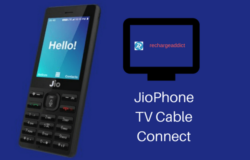 Jio Phone TV Cable