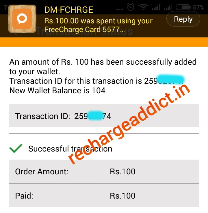 How To Transfer Freecharge Cashback In Bank Account (New Trick)