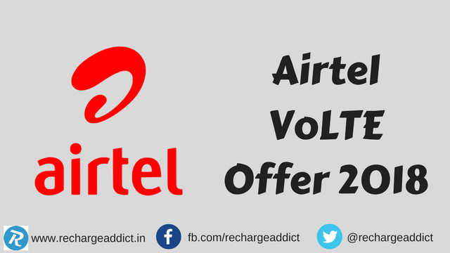 Airtel VoLTE Offer