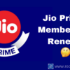 Jio Prime Subscription is Ending on March 31, 2018; How to Renew?