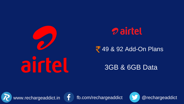 Airtel add-on plans