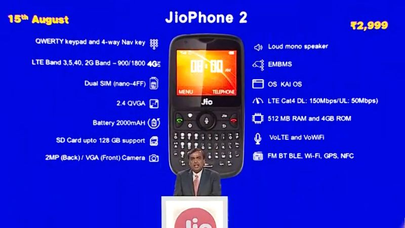 Jio phone 2 booking
